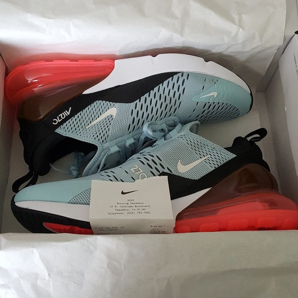 purchase cheap e683e fd7f7 Nike Air Max 270 Ocean Bliss NWT W12 M10.5